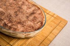 Homemade Tiramisu Cake Royalty Free Stock Image