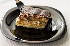 Homemade tiramisu cake Royalty Free Stock Photos
