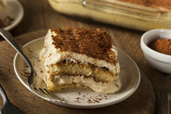 Homemade Tiramisu for Dessert Stock Photography
