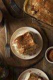 Homemade Tiramisu for Dessert Stock Photography
