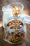 Homemade toasted granola Stock Images