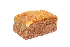 Homemade toffee cake Royalty Free Stock Photography