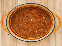 Homemade tomato sauce Royalty Free Stock Image