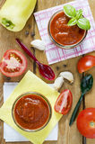 Homemade tomato sauce Stock Photos