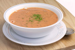 Homemade Tomato Soup Royalty Free Stock Photos