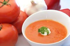 Homemade tomato soup Royalty Free Stock Photo