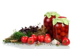 Homemade tomatoes preserves Stock Image