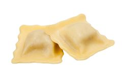 Homemade tortellini Stock Photos