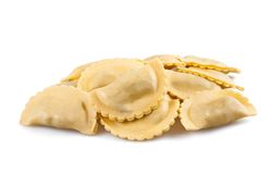 Homemade tortellini Stock Images
