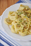 Homemade tortellini Stock Photography