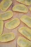Homemade tortellini Royalty Free Stock Photography