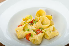 Homemade tortellini Royalty Free Stock Photos