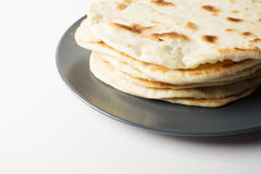 Homemade tortillas Royalty Free Stock Images