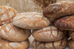 Homemade, traditional bread. Stock Image
