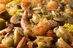 Free Homemade Traditional Cajun Shrimp Boil Royalty Free Stock Photography - 88216297