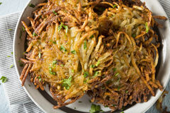 Homemade Traditional Potato Latkes Stock Images