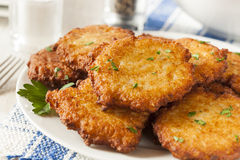 Homemade Traditional Potato Pancake Latke Royalty Free Stock Image