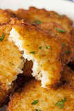 Homemade Traditional Potato Pancake Latke Royalty Free Stock Images