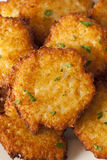 Homemade Traditional Potato Pancake Latke Royalty Free Stock Photo