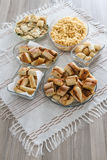 Homemade traditional Turkish pastries Royalty Free Stock Photography
