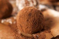 Homemade truffle Royalty Free Stock Photography