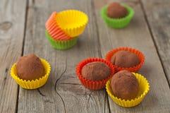 Homemade truffles Stock Photo