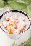 Homemade turkish delights Stock Image