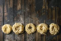 Free Homemade Uncooked Pasta Royalty Free Stock Photo - 126800405