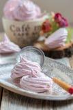 Homemade vanilla marshmallows. Royalty Free Stock Photos
