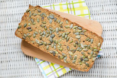 Homemade vegan green lentil pate Stock Images