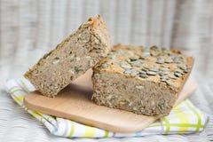Homemade vegan green lentil pate Royalty Free Stock Image