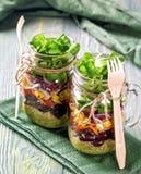 Homemade vegetable salad Royalty Free Stock Photo