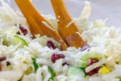 Homemade Vegetable Salad Stock Photography