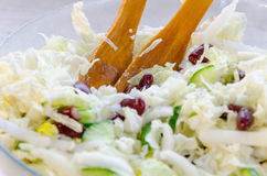 Homemade Vegetable Salad Stock Photo