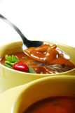 Homemade Vegetable Soup Royalty Free Stock Photography