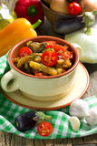 Homemade vegetable stew Stock Images