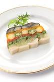 Homemade vegetable terrine Stock Image