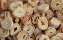 Homemade village pasta Stock Images