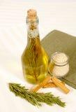 Homemade vinegar Stock Images