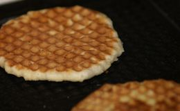 Homemade wafers Stock Photography