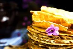 Homemade wafers Stock Photo