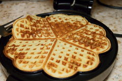 Homemade Waffles Stock Photos