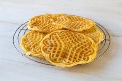 Homemade waffles Royalty Free Stock Photos