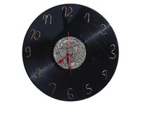 Homemade wall clock Royalty Free Stock Photos