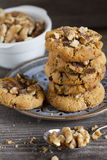 Homemade Walnut Chili Cookies Stock Photography