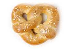 Homemade Warm Soft Pretzel Royalty Free Stock Images