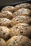 Homemade whole grain bread Stock Photos