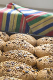 Homemade whole grain bread Stock Image