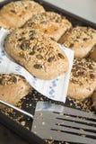Homemade whole grain bread Royalty Free Stock Photos
