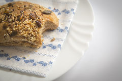 Homemade whole grain bread Royalty Free Stock Photo